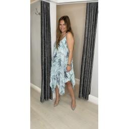 Lucy Cobb Fern Handkerchief Dress - Mint