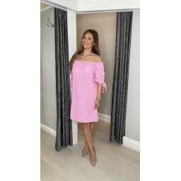 Lucy Cobb Clarity Cheesecloth Dress - Baby Pink