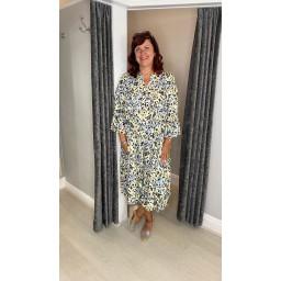 Lucy Cobb Gina Tiered Maxi Dress - Animal Print
