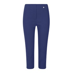 Robell Trousers Rose 07 Capri Trousers - French Navy