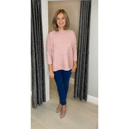 Lucy Cobb Janet Jumper in Baby Pink