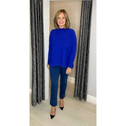 Lucy Cobb Janet Jumper in Royal