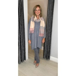 Lucy Cobb Tyla Knitted Tunic - Grey