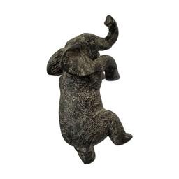 Lucy Cobb Homeware Animal Pot Hangers (2pk) in Myles Elephant Antique