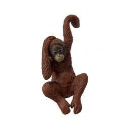 Lucy Cobb Homeware Animal Pot Hangers (2pk) in Luis Orangutan Brown