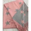 Star Reversible Pashmina  - Baby Pink