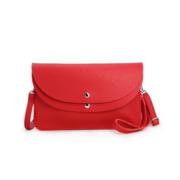 Lucy Cobb Bags Dionne Double Clutch Bag  in Red