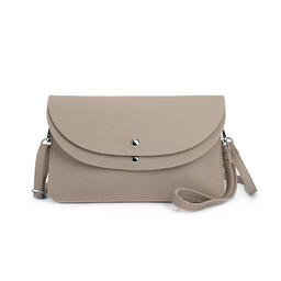 Lucy Cobb Bags Dionne Double Clutch Bag  in Taupe