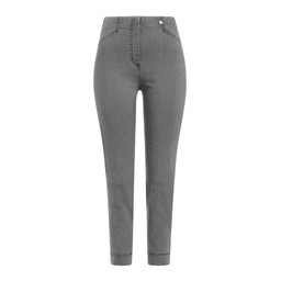Robell Trousers Rose 09 Denim Jeans - Mid Grey