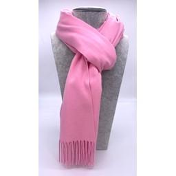 Lucy Cobb Accessories Perla Pashmina Scarf in Bubblegum Pink