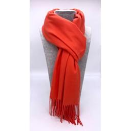 Lucy Cobb Accessories Perla Pashmina Scarf in Burnt Orange