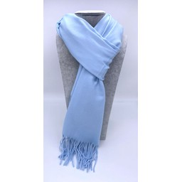 Lucy Cobb Accessories Perla Pashmina Scarf in Baby Blue