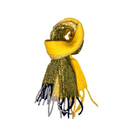 Lucy Cobb Accessories Betsy Boucle Scarf in Mustard