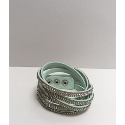 Lucy Cobb Sparkle Choker/Cuff in Peppermint