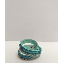 Lucy Cobb Sparkle Choker/Cuff in Peppermint Tri-Colour