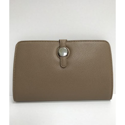 Lucy Cobb Travel Wallet with Purse in Brown