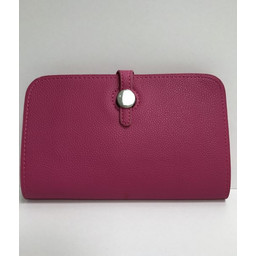 Lucy Cobb Travel Wallet with Purse in Fuchsia