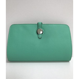 Lucy Cobb Travel Wallet with Purse - Green