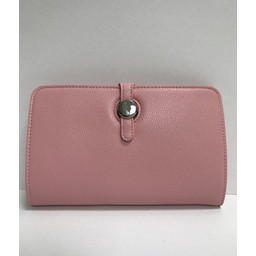 Lucy Cobb Travel Wallet with Purse in Light Pink