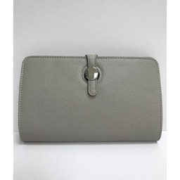 Lucy Cobb Travel Wallet with Purse in Taupe