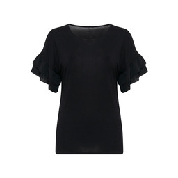 Fransa Miviet T Shirt - Black