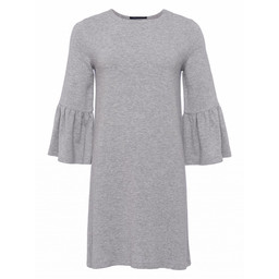 French Connection Paros Bell Sleeve Tunic - Light Grey