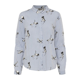 B Young Friche Shirt - Navy