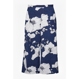 Great Plains Tropical Fauna Culotte - Navy Mix
