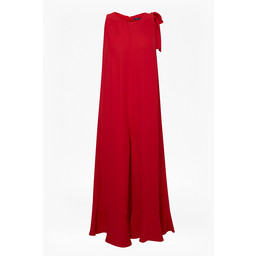 French Connection Hiva Flared Jumpsuit - Red