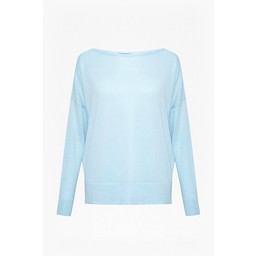 French Connection Spring Light Open Back Jumper - Blue