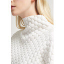 Mona Mozart Knit Oversized Jumper - White - Alternative 1