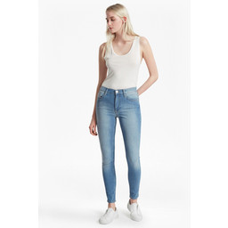 French Connection Rebound Skinny Jeans - Sunbleached