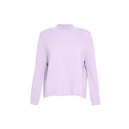 Great Plains Kimara Bubble Polo Jumper - Lilac