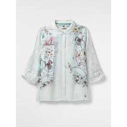 White Stuff Tanami Shirt - White Mix