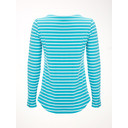 Birdie Stripe Jersey Tee - Turquoise - Alternative 1