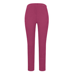 Robell Rose 09 Jacquard Trousers in Magenta