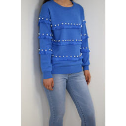 Lucy Cobb Felicity Jumper - Royal