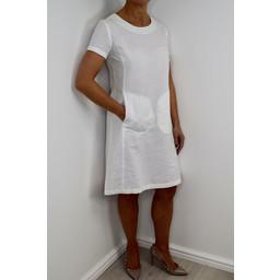 Alice Collins Suzie Dress - White