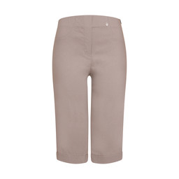 Robell Trousers Bella 05 Bermuda Shorts in Light Taupe