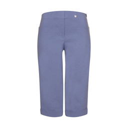 Robell Trousers Bella 05 Bermuda Shorts in Light Denim Blue