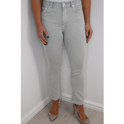 French Connection Antique Dye Kickcrop Jeans - Grey