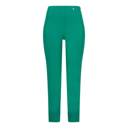 Robell Bella 09 Trousers in Golf Green