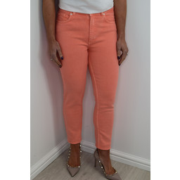 French Connection Antique High Rise Jeans - Coral