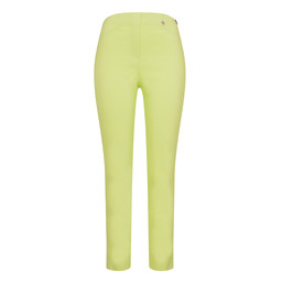 Robell Rose 09 Trousers in Lime Green