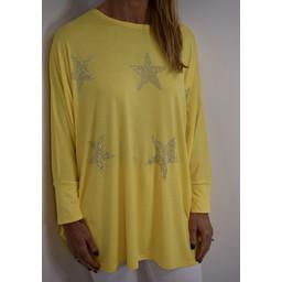 Lucy Cobb Skye Top - Yellow