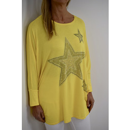 Lucy Cobb Skyla Top - Yellow
