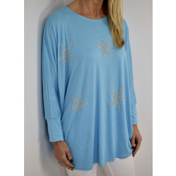 Lucy Cobb Skye Top in Turquoise