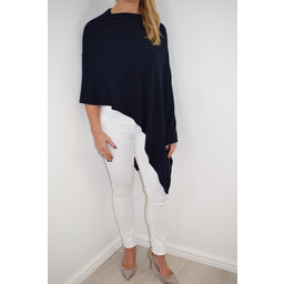 Deck  Raven Poncho in Navy
