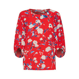 B Young Franny Blouse - Red
