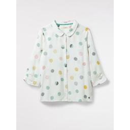 White Stuff Pretty Greta Shirt - Off-White